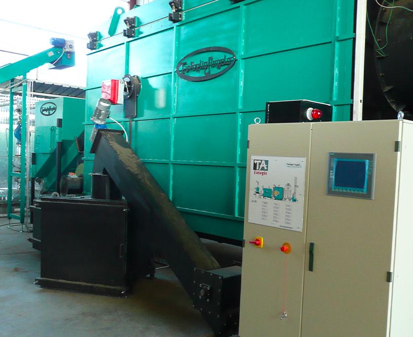TGF-GM (termogeneratore di Fiamma a griglia mobile) 3,5 MW
