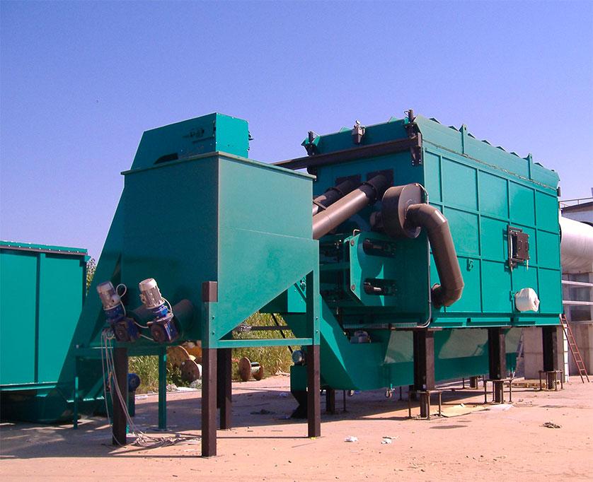 TGF-GM (termogeneratore di Fiamma a griglia mobile) 5 MW
